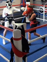 sparring training robina